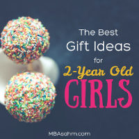 The Best Gifts for 2-Year Old Girls
