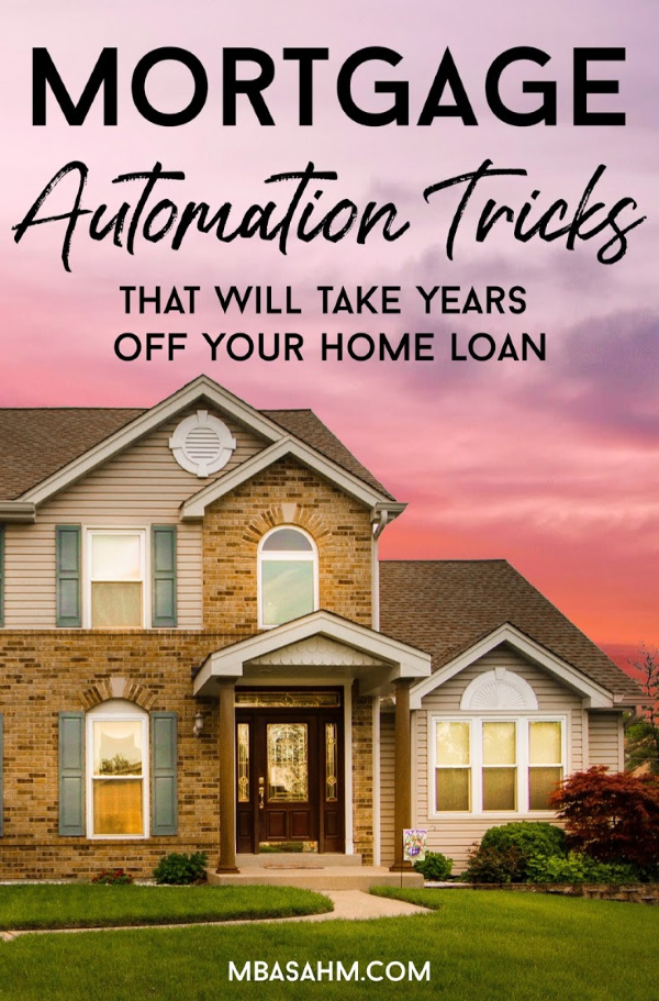 These mortgage automation tricks are one of the easiest ways to pay down your home loan quickly and frankly, without even thinking about it.  Everyone with a mortgage should be doing this!