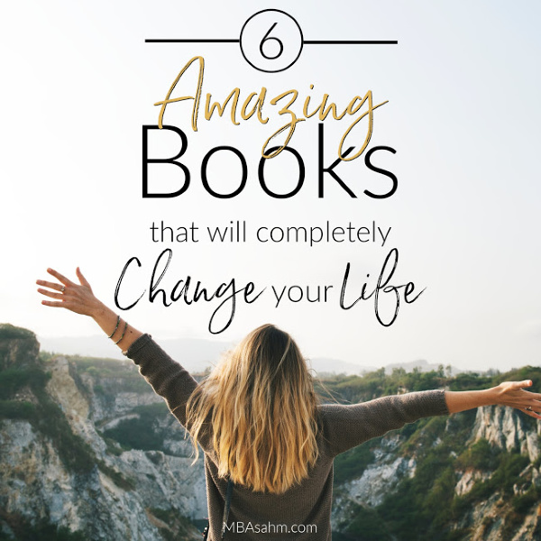 These amazing books have the power to completely change your life!  They're definitely the best books out there and ones that everyone should read.