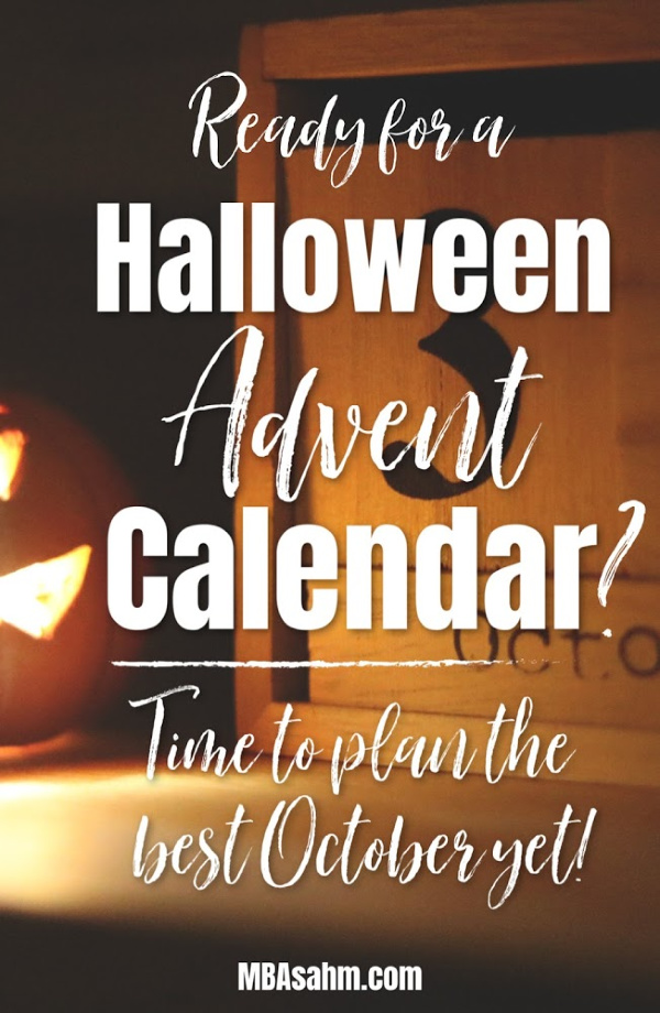 A Halloween Advent Calendar is an awesome way to make October one of the most exciting months of the year. And you can make these yourself if you want!  If you're new to Halloween countdown calendars, check them out to see if they're a good fit!