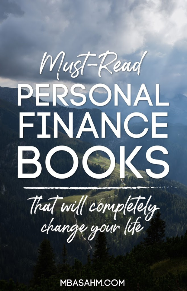 These personal finance books have amazing advice that will transform not only your finances, but also your life!  They're all must-reads, so add them to your list. You'll be so glad you did!