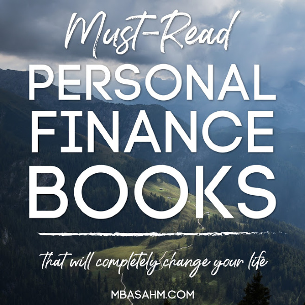 There are so many great reads out there,  but these are the best personal finance books that you'll be able to find.  They'll completely change your life for the better!