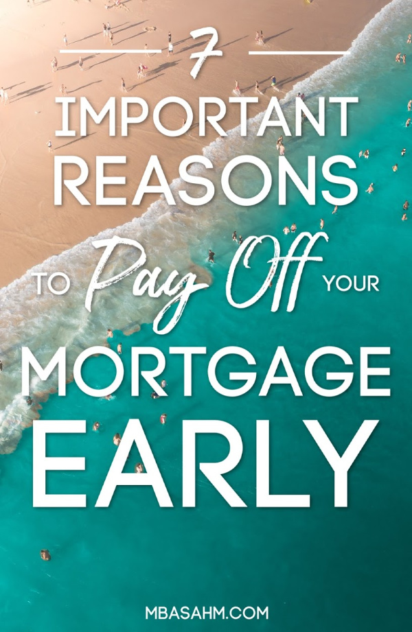 There are so many important reasons to pay off the mortgage early, but no one ever talks about them!  If you want to get out of debt, this is a big step, so it shouldn't be overlooked. Home ownership is important, but having a long mortgage is not.  Here's what you need to be considering.