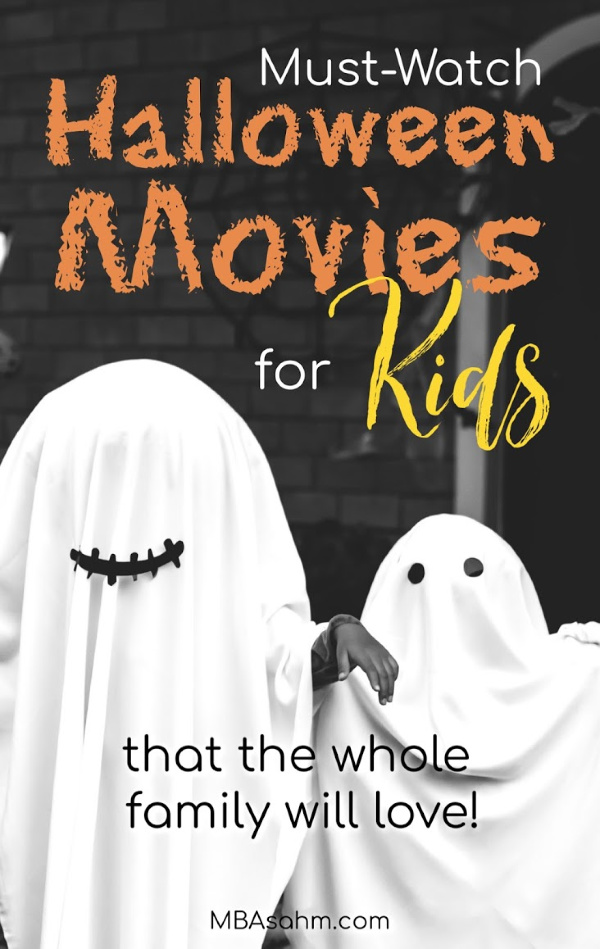 These Halloween movies for kids are perfect for the whole family!  They're a great way to celebrate the holidays as a family and will keep you excited and creeped out all month long!