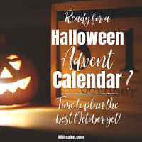 A Halloween Countdown Calendar that Will Keep Your Kids Excited All October