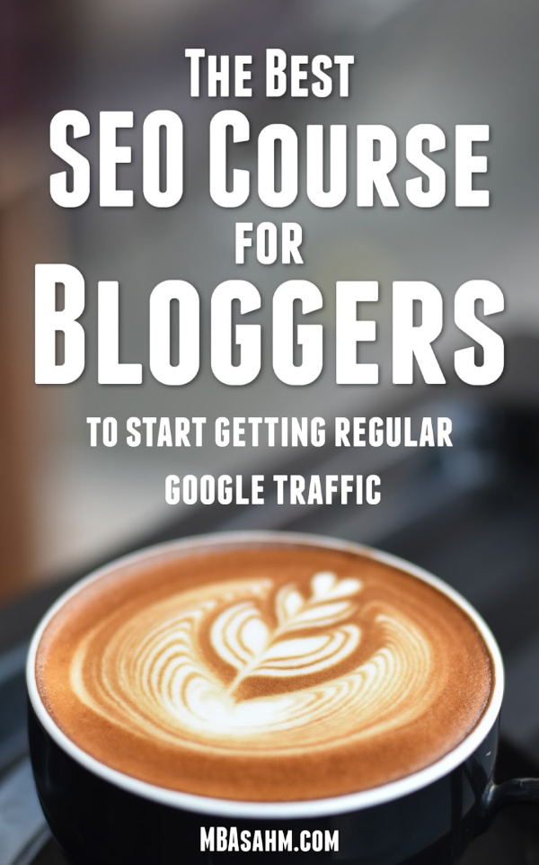 This is the best SEO course for bloggers that you'll be able to find anywhere.  It's affordable, easy to understand, and gives you immediate actionable items that you can apply to your blog immediately.  It's a great way to create sustainable, stable traffic to your blog!