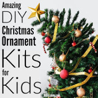 A Fun Family Holiday Craft: DIY Ornament Kits for Kids