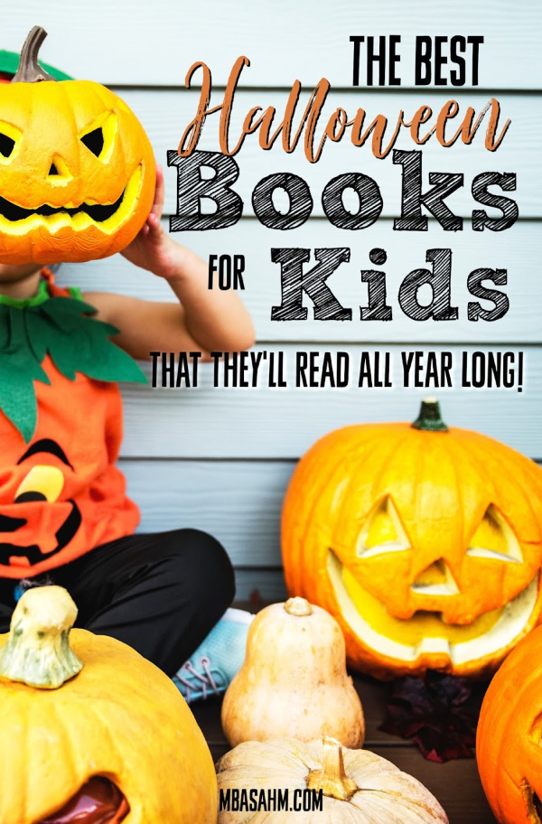 These fun Halloween books for kids are perfect for toddlers and young readers and present Halloween in a not too scary way!