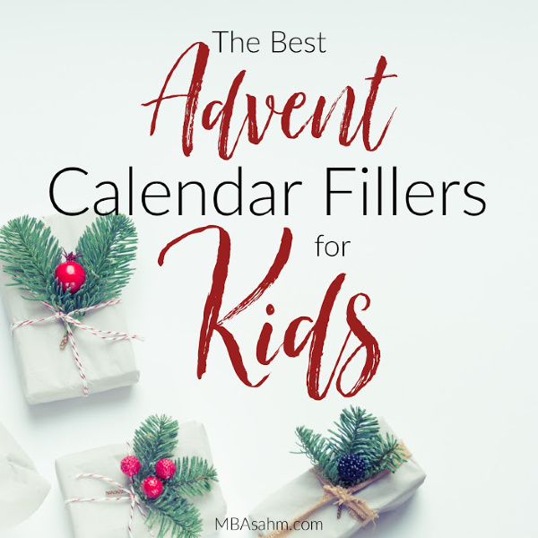 These Advent calendar filler ideas for kids are the perfect way to fill your DIY Advent calendar this year!  From non-gift Advent calendar ideas to photo-op Christmas-themed ideas, there's something for every calendar!