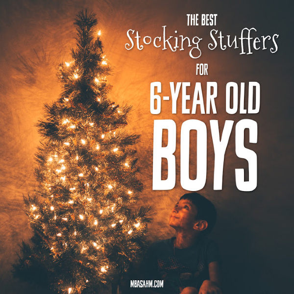 These stocking stuffer ideas for 6-year old boys are the perfect Christmas gifts for your little boy!