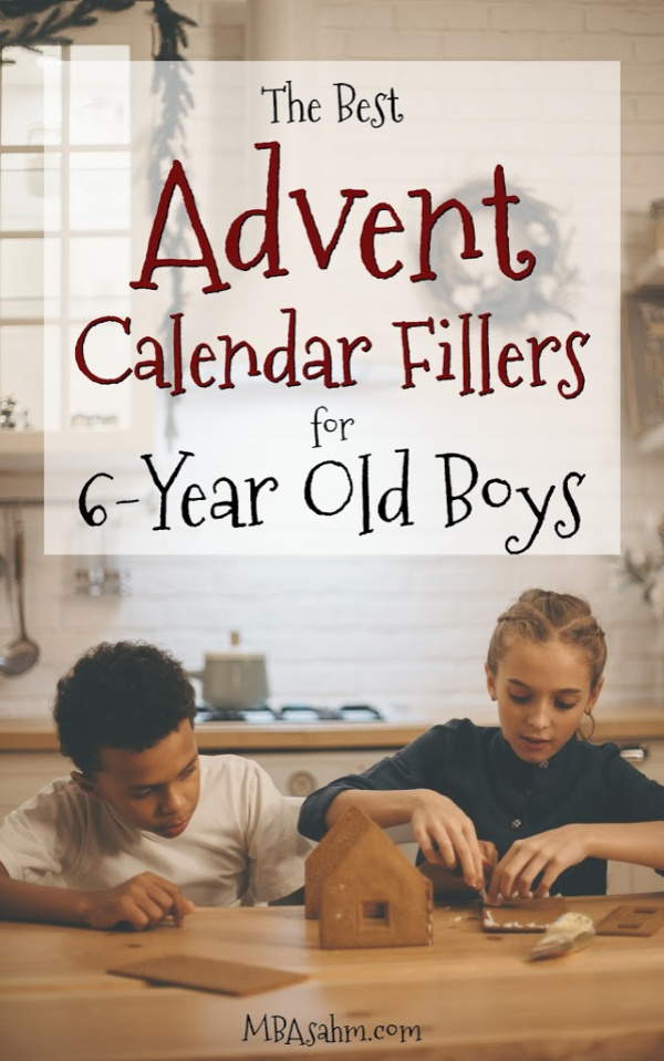 These Advent calendar fillers for 6-year old boys are the perfect away to create Christmas spirit this holiday season!