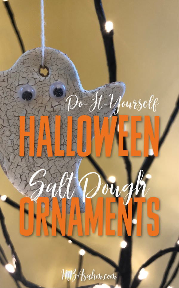 These Halloween salt dough ornaments are such a fun Halloween craft for the kids and a great way to get in the Halloween spirit!