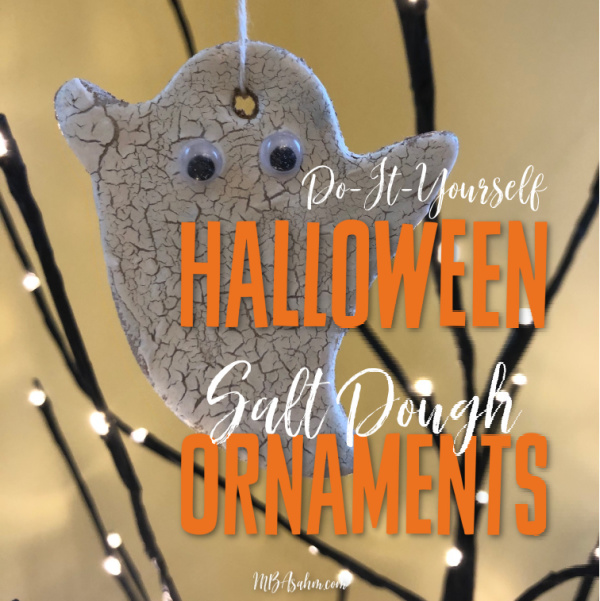 These salt dough Halloween ornaments are such a great Halloween activity for the kids and they make great decorations!